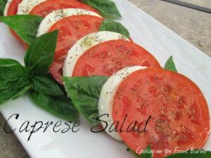 I Heart Caprese Salad