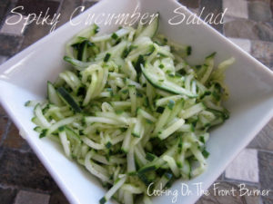 Spiky Cucumber Salad