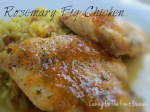 Rosemary Fig Port Chicken