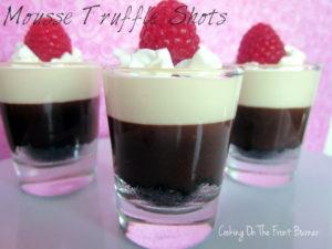 Mousse Truffle Shots