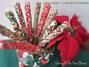 Guest Post and Chocolate Pretzels