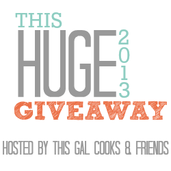 Huge Giveaway by This Gal Cooks