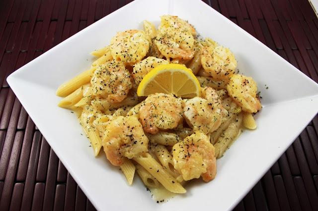 Margarita Shrimp with Pasta