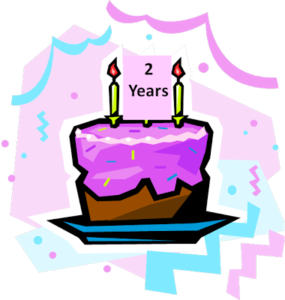 Happy 2nd Blog-iversary/Giveway