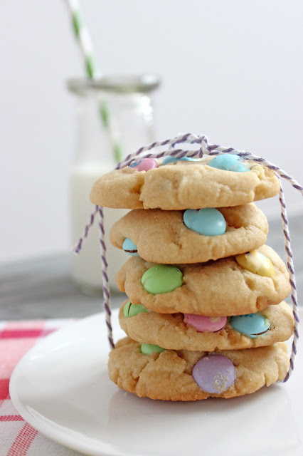 Easter M&M Cookies