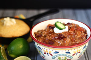 Chili with Jalapeno