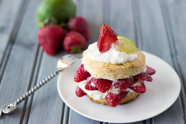 Strawberry Margarita Shortcake