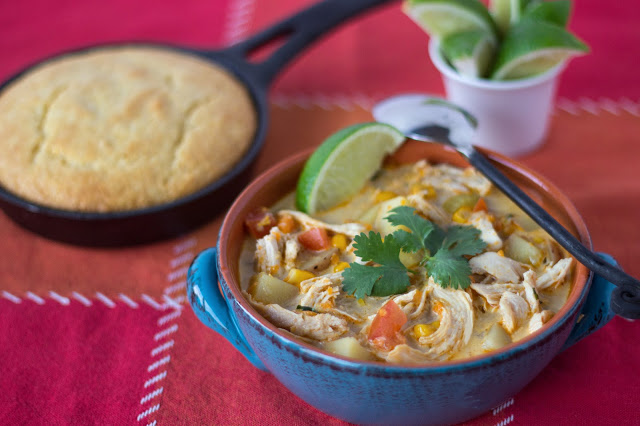 Chicken Chowder with Chipotle
