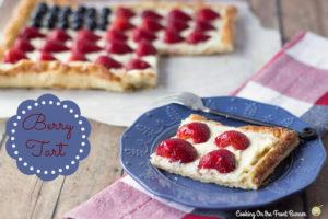 Berry Flag Tart