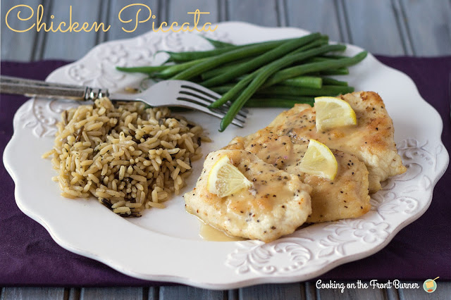 Chicken Piccata | Cooking on the Front Burner