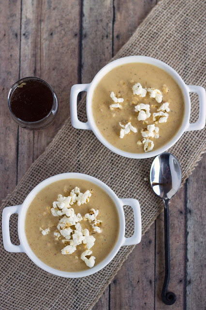 Beer Cheese Soup | Cooking on the Front Burner