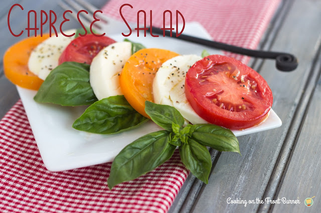 Caprese Salad | Cooking on the Front Burner