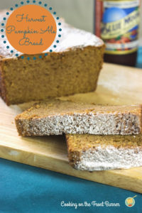 Harvest Pumpkin Ale Bread