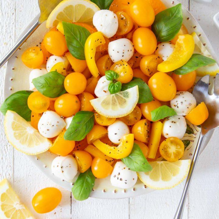 Lemon Caprese Salad