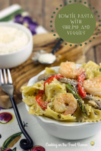 Bowtie Pasta with Shrimp and Veggies