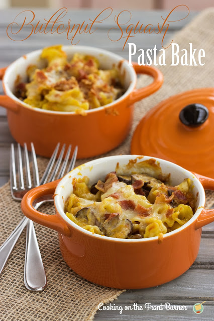 Butternut Squash Pasta | Cooking on the Front Burner #butternutsquash #pastabake