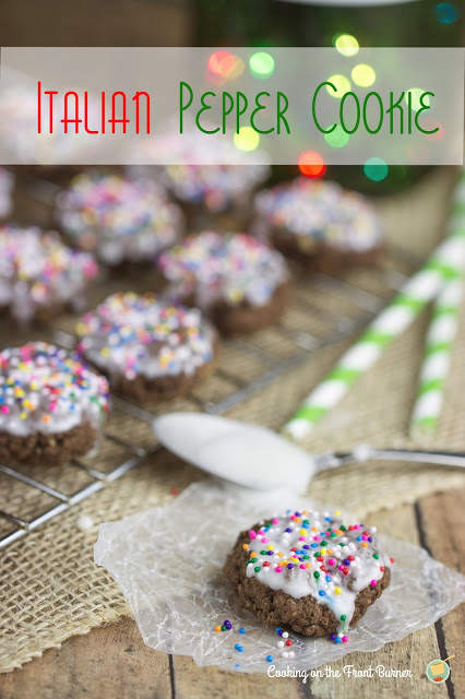 Italian Pepper Cookies | Cooking on the Front Burner