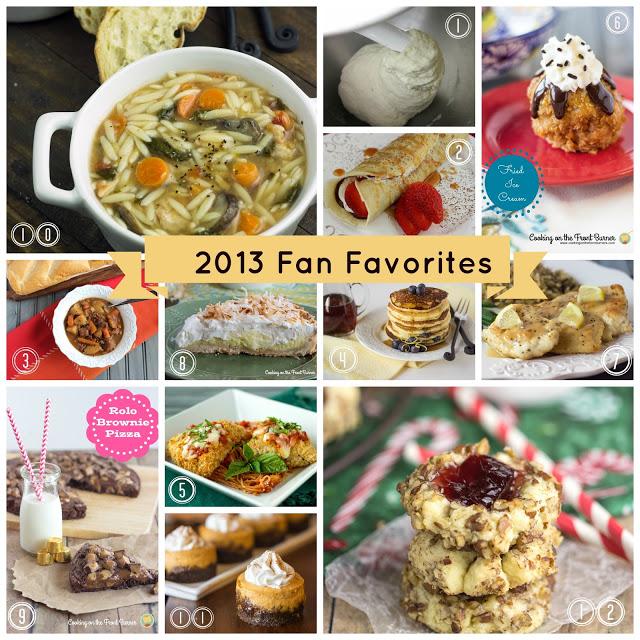 Fan Favorites 2013 | Cooking on the Front Burner #cookingonthefrontburner #2013favorites