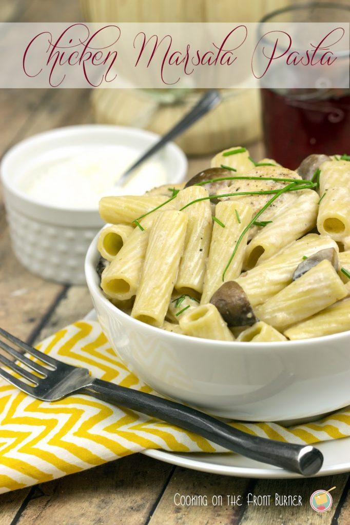 Chicken Marsala Pasta | Cooking on the Front Burner #chickenmarsala #italian