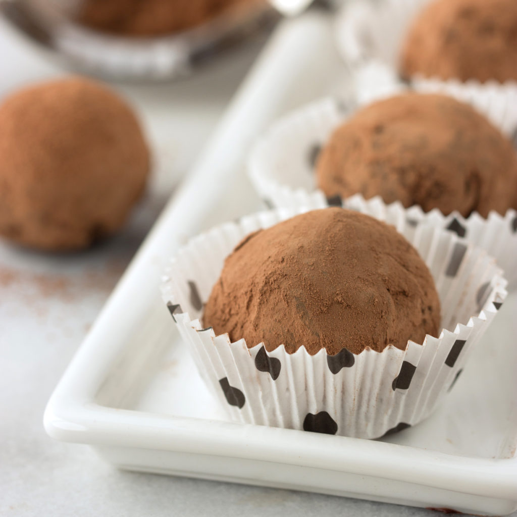 Lavender Chocolate Truffles | Cooking on the Front Burner #truffles