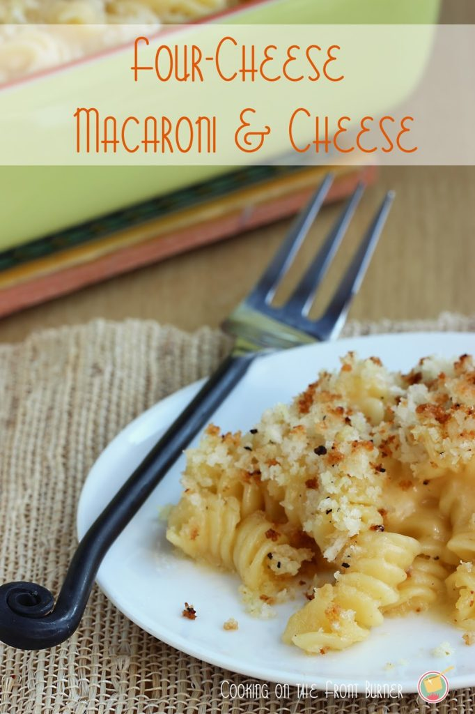 Four Cheese Mac & Cheese | Cooking on the Front Burner #mac-n-cheese