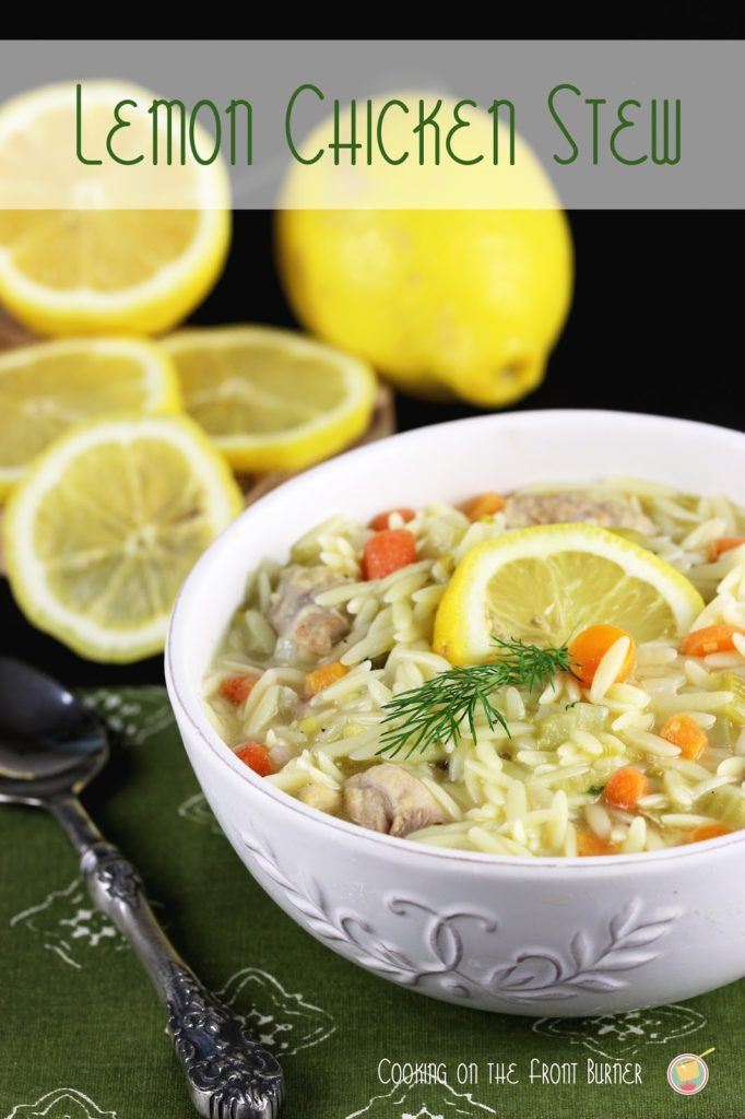 Lemon Chicken Stew | Cooking on the Front Burner