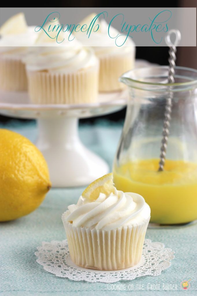 Limoncello | Cooking on the Front Burner #limoncello #lemoncupcake