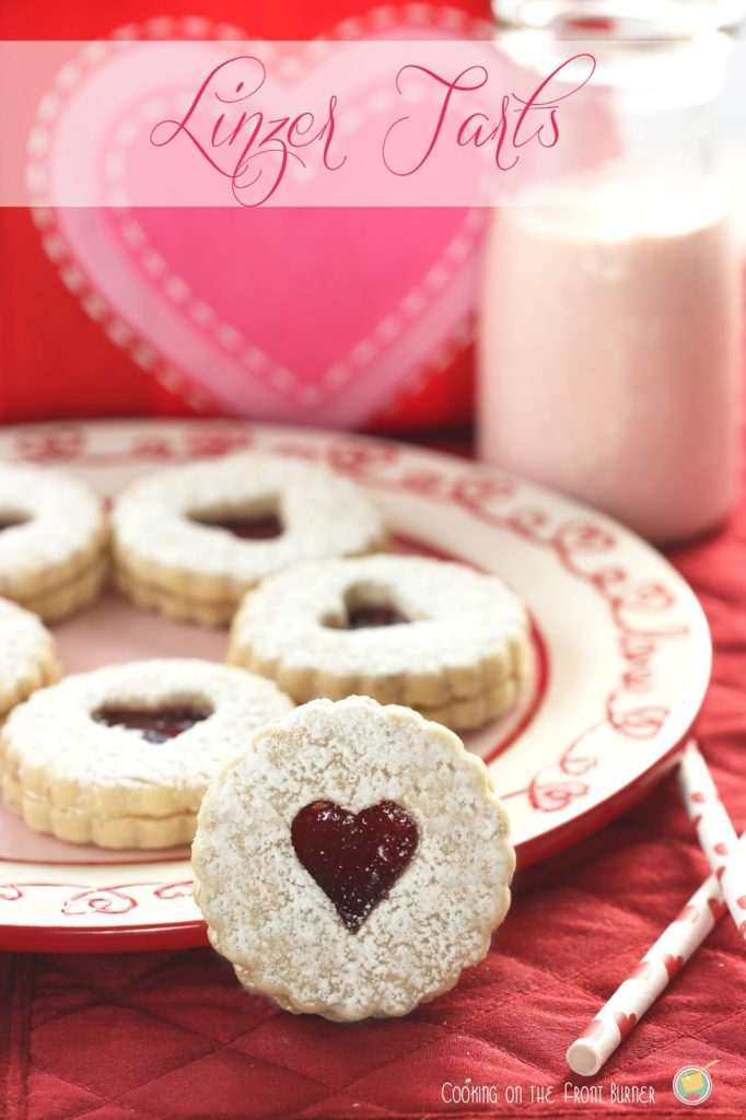 Linzer Tart Cookies | Cooking on the Front Burner #linzertarts # valentinesday #cookies