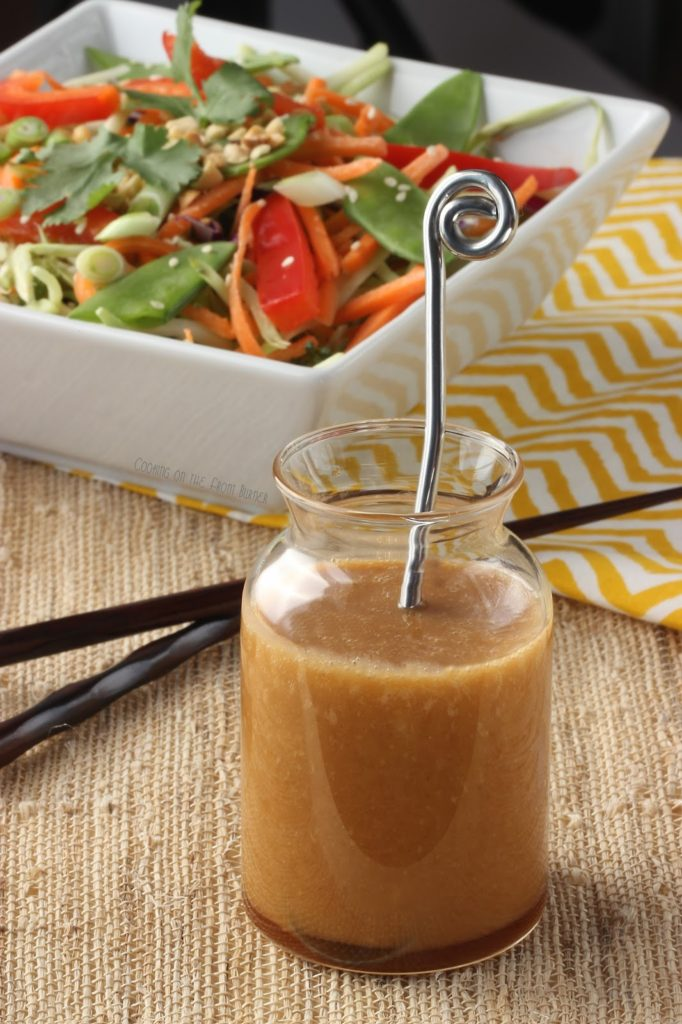 Ginger Soy Dressing | Cooking on the Front Burner #gingerdressing #asianrecipe