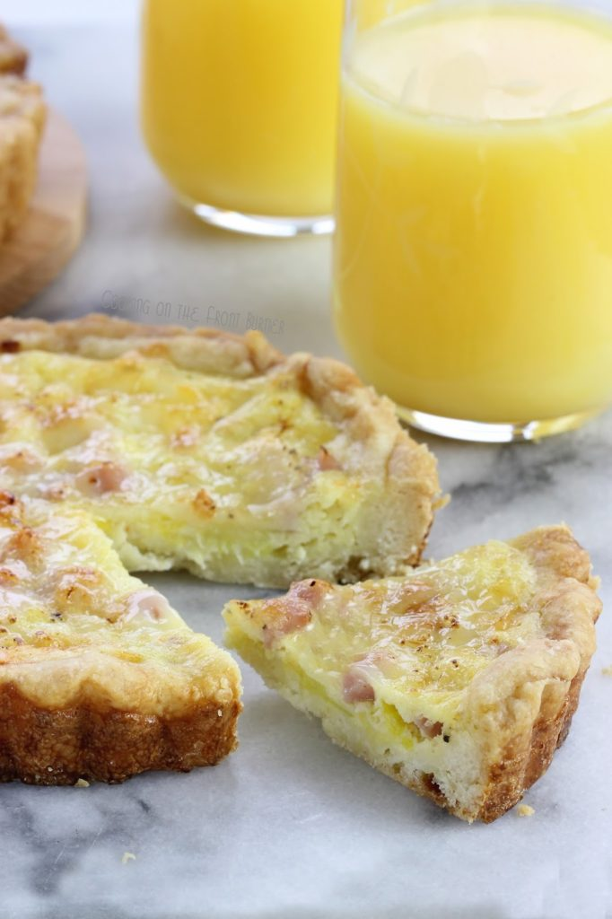 Ham and Leek Quiche | Cooking on the Front Burner #hamquiche #brunchquiche