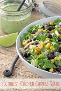 SW Chicken Chopped Salad