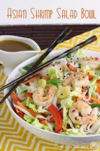 Asian Shrimp Salad Bowl