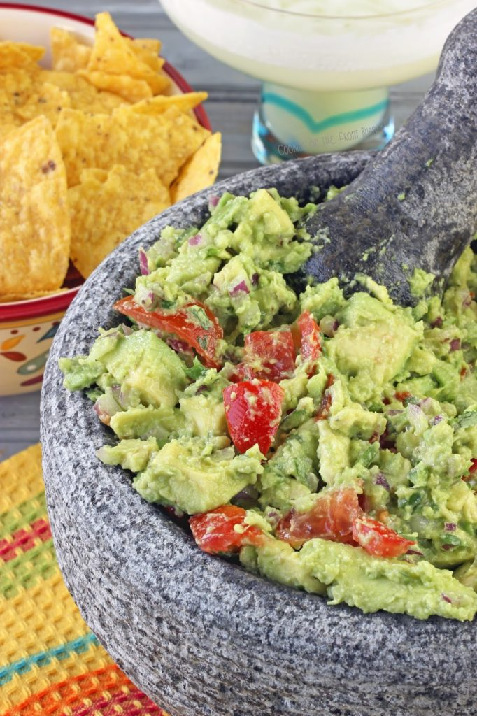 Guacamole - create your own with this easy recipe | Cooking on the Front Burner #guacamole #mexican #avocados
