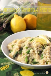 Limoncello and Asparagus Risotto