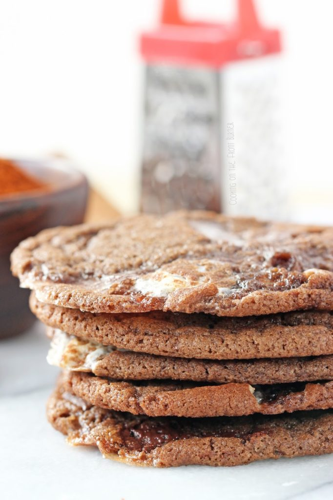 Mexican Hot Chocolate Cookies | Cooking on the Front Burner #mexicancookies