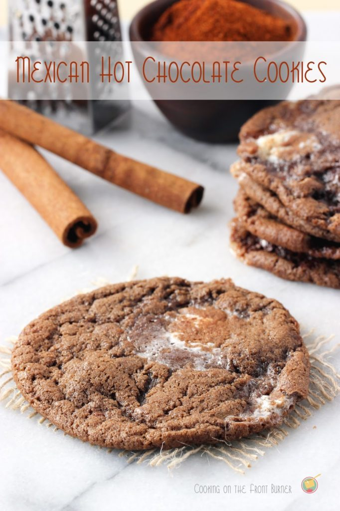 Mexican Hot Chocolate Cookies | Cooking on the Front Burner