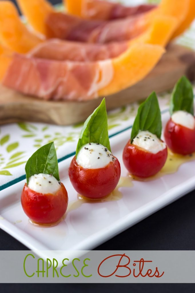 Caprese Bites | Cooking on the Front Burner #appetizers