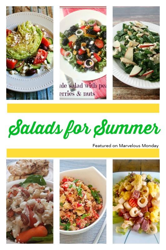 Salads for Summer | Cooking on the Front Burner #MarvelousMonday #SummerSalads
