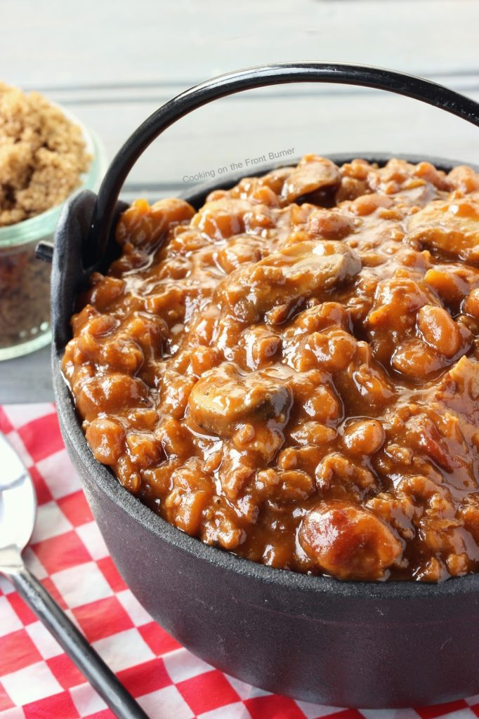 Troy's Baked Beans | Cooking on the Front Burner #slowcooker #crockpot