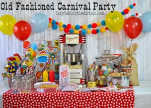 Old Fashioned Carnival Party Giveaway!