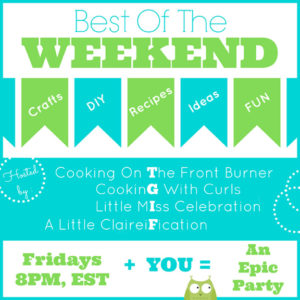 Best of the Weekend and Cookies!
