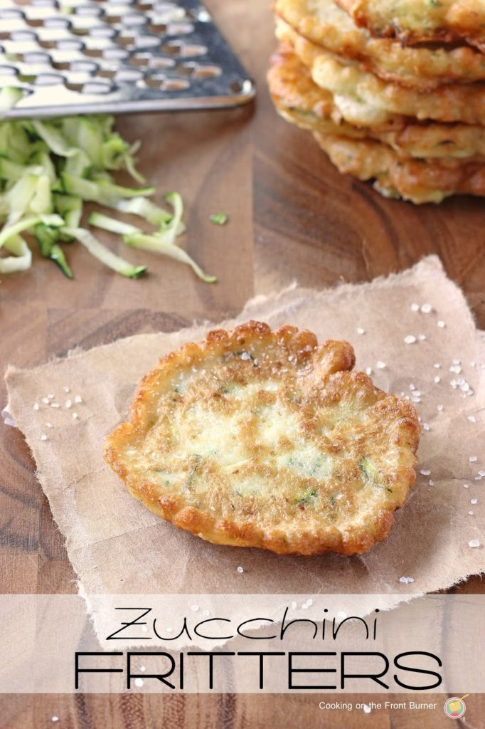 Use up your extra zucchini with these fritters - so good!