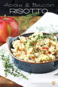 Apple, Bacon and Thyme Risotto