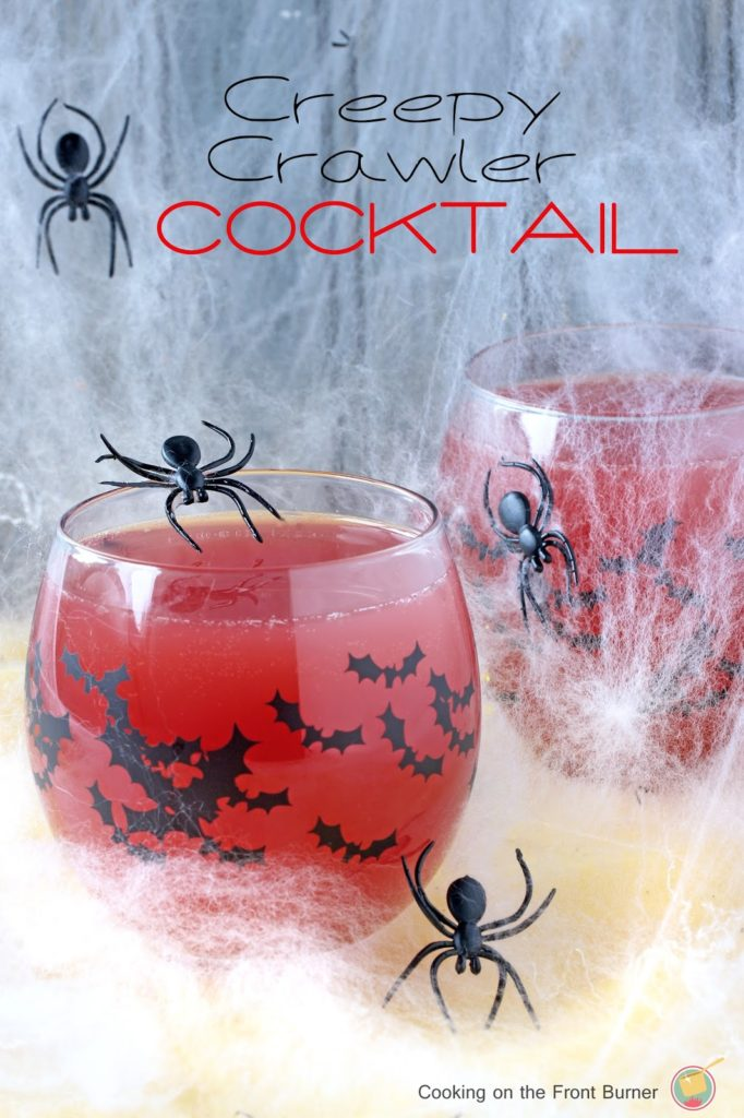 Creepy Crawler Cocktail | Cooking on the Front Burner