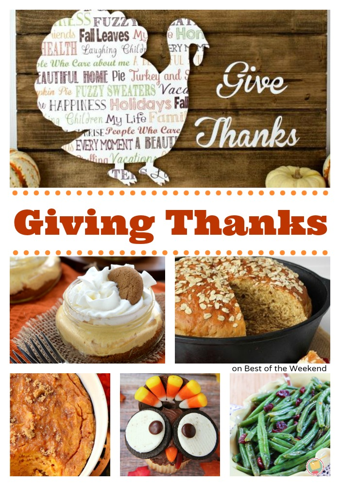 Giving Thanks | Cooking on the Front Burner