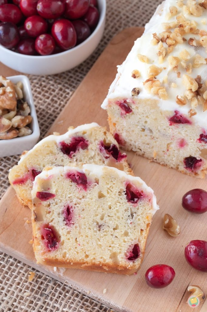 Cranberry Orange Walnut Bread | Cooking on the Front Burner