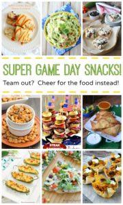Super Game Day Snacks!