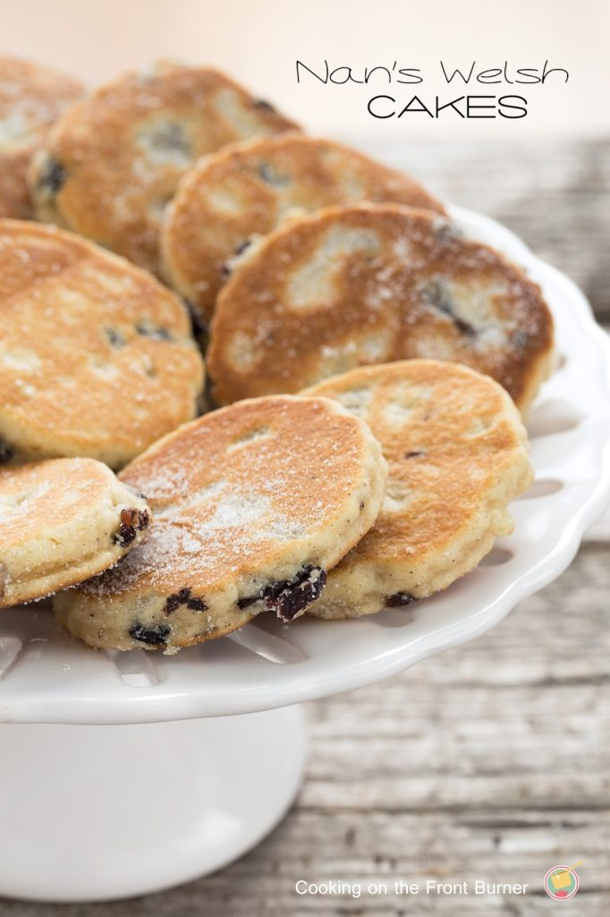 Welsh Cakes - a traditional favorite.