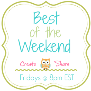 Best of the Weekend and Giveaway!