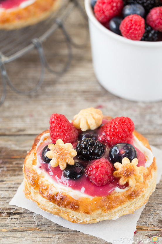 Berry Breakfast Pizza